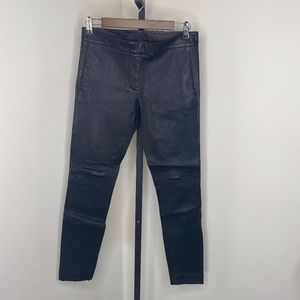 J. Crew Collection Ryder Leather Pant Size 4